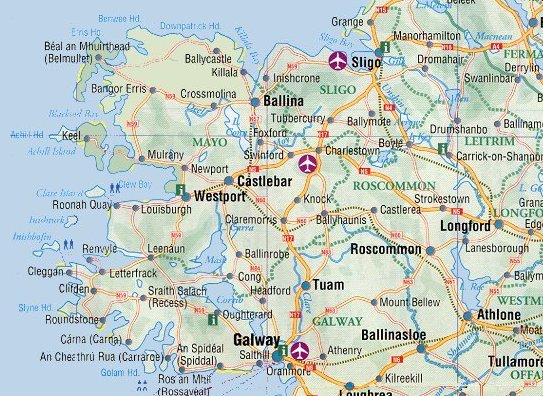 Southwestern Ireland